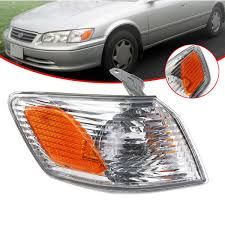 Front Side Marker Light Front Right Side Marker Lights Parking Corner Turn Signal Lamp Cover For Toyota Camry 2000 2001