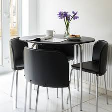 Image Black Glass Small Black Dining Set Dining Table And Chairs For Small Spaces Small Black Kitchen Table And Chairs The Runners Soul Dining Room Small Black Dining Set Dining Table And Chairs For Small
