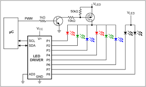 how to apply additional pwm intensity control to led drivers figure 2 a power mosfet serves as the switching device