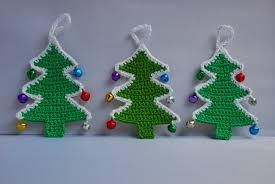 Crochet Decoration Patterns Amjaylou Crochet Christmas Tree Decoration