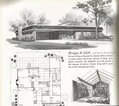 vintage house plans large mid century homes modern small house plans mid century modern mid century house plans designs