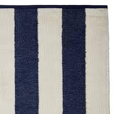 perennials donovan stripe indoor outdoor rug navy