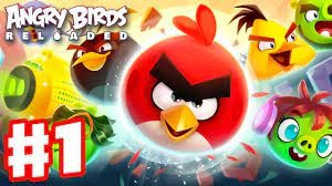 Angry Birds Reloaded - Gameplay Walkthrough Part 1 - The Birds Are Back!  Hot Pursuit! (Apple Arcade) - YouTube