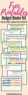 Budget Binder Printables Frugal Living Ideas Money Saving Tips