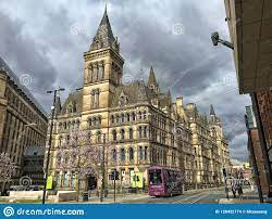 Manchester city council editorial stock image. Image of manchester -  128432174