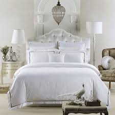 5 star hotel series 60s sateen fabric 100 fine combed cotton hotel white duvet cover king bedspread luxury bedding set full bedding luxury bedding linens