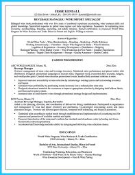 Job Description Of A Bartender For Resume Resume Template Banquet Serverr Job Description Food Objective 28