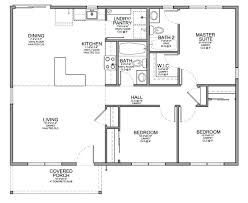 plans floor plan for affordable sf house with 3 bedrooms and 2 bathrooms tiny free