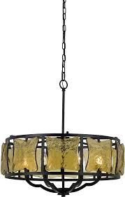 cal fx 3677 6 revenna modern black drum pendant light loading zoom
