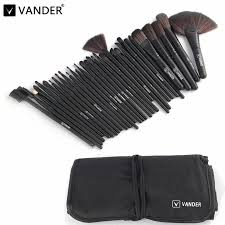 whole professional makeup brush set makeup brushes eyebrow eyeliner powder tools toiletry kits pinceaux maquillage black eyebrow brush makeup cases from