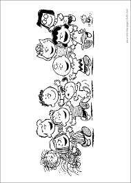 Small Picture Snoopy color page Coloring pages for kids Cartoon characters