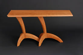 hall table furniture. Egret Wood Hall Table Made From Cherry In Custom Sizes By Seth Rolland Fine Furniture Design. 〉