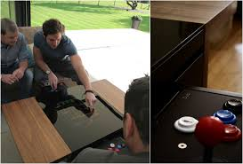 Dual Arcade Table.