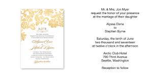 Sample Of Wedding Invatation Wedding Ideas Sample Wedding Invitation Grandioseparlor Com