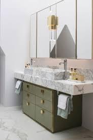 bathroom marble sage green pink and brass retro modern minimal bathroom remarkable marble sage green