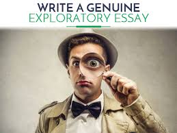 writing an exploratory essay common topics  writing an exporatory essay