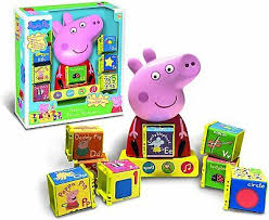He listed 23 latin letters and added 5 more. Peppa Pig Phonic Alphabet Interactive Toy 18 99 Picclick Uk