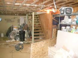 Basement Stair Designs Delectable Basement Waterproofing Water Leaking Into Basement In Oelwein IA