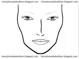 blank face charts nonmac