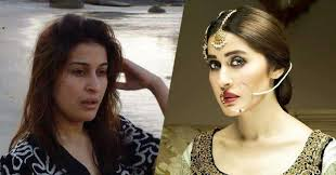 shaista lodhi without make up