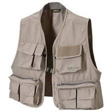 Orvis Clearwater Vest For Men Stone M Fishing Vest