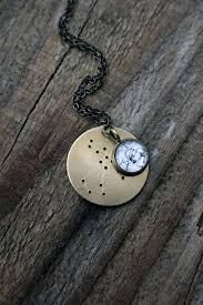 Constellation Necklace Zodiac Pendant Custom Astrological