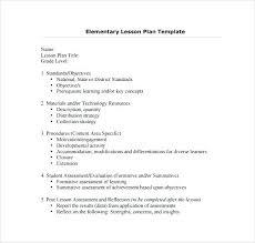 Elementary Teachers Lesson Plan Free Format Download