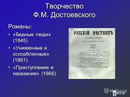 Скачать реферат по теме Ф М Достоевский Преступление и наказание  Реферат по преступлению и наказанию