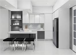 Grey And White Kitchen Backsplash Grey And White Gloss Kitchen