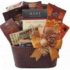 chocolate mosaic gift basket