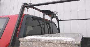 here is the view showing the winch mounted on the front pickup rack