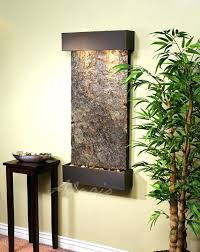 wall fountain indoor antique bronze with green slate diy