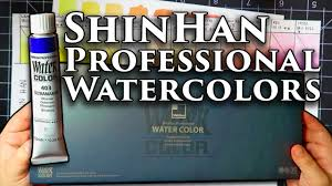Review Shinhan Professional Watercolors