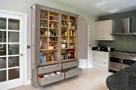 amazing stand alone kitchen pantry design ideas 47