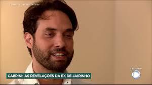 Caso Henry: Para Roberto Cabrini, a ex-namorada de Jairinho faz revelações  sobre o comportamento - YouTube