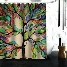 tree of life curtains custom the shower curtain more size waterproof fabric for bathroom colorful tree of life