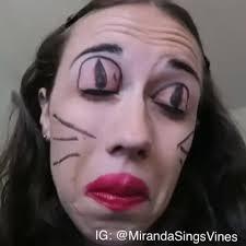 watch miranda sings s vine cat eye makeup