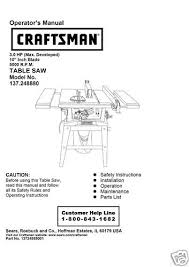 craftsman table saw wiring craftsman image wiring similiar sears craftsman model 137 248880 keywords on craftsman table saw wiring