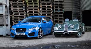 Generation X: Jaguar XFR-S meets its ancestors | Classic Driver ...