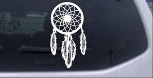 Dream Catchers For Your Car Dreamcatcher Dream Catcher Car or Truck Window Laptop Decal 23