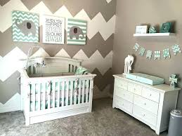 baby boy nursery decorations room for image of ideas wall chevron decor colors