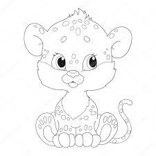 Coloriage Leopard Dessin Jaguar A Colorier Orang Outan Accroche