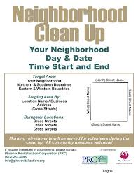 Community Clean Up Flyer Template Park Community Clean Up Flyers