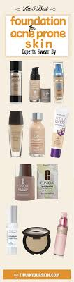 foundation for acne e skin