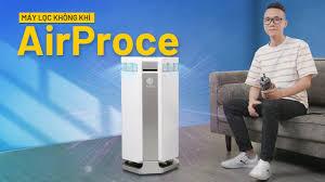 Đánh giá máy lọc không khí gần 36 TRIỆU AirProce AI-600: SẠCH TUYỆT ĐỐI -  YouTube