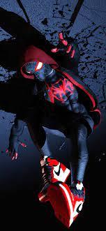 1125x2436 Spiderman Miles Morales 4k ...