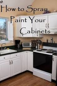 Small Picture Kitchen Cabinet Spray Paint HBE Kitchen