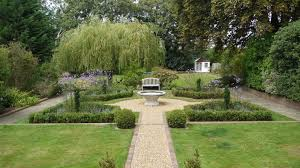picturesque formal garden