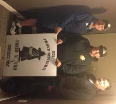 caci congratulates members on baker to vegas run california caci president dennis maffei member james potts and caci vice president eddie ascension