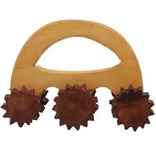 massage roller wooden wheel massage roller in rosewood for pain and stress relieving hand carved massager